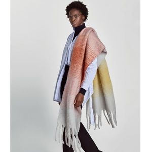 Zara Soft touch blended scarf